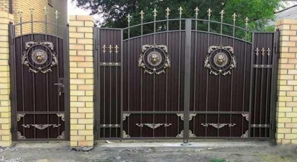 Как сделать откатные ворота своими руками?
