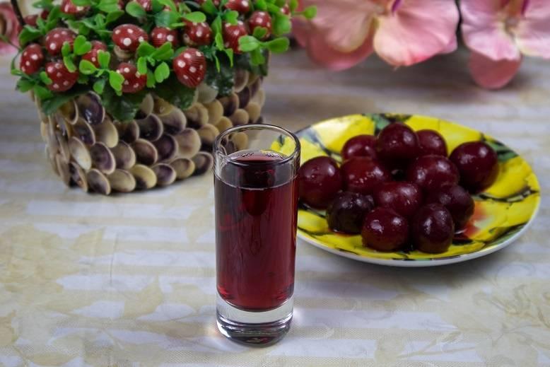 Рецепты вишневой наливки на водке на самогоне с косточками