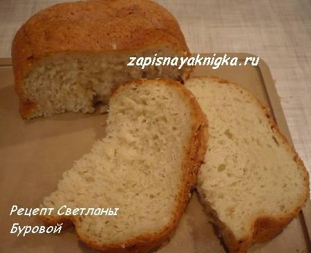 Луковый хлеб с укропом в хлебопечке