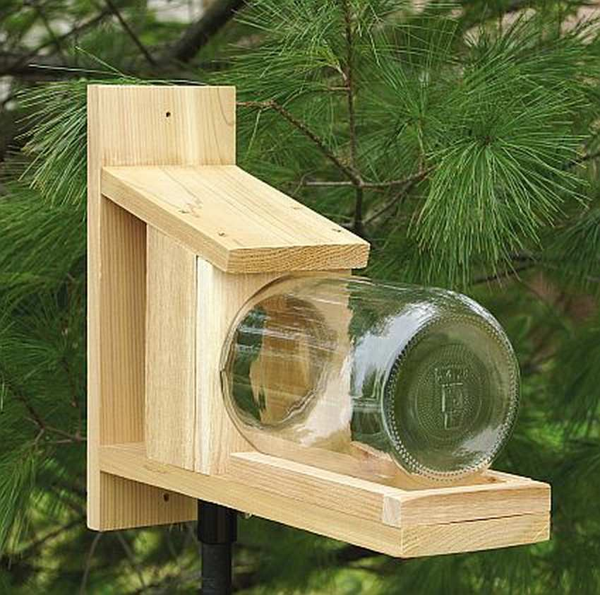 Кормушка для птиц своими руками из подручных материалов: оригинальные и простые идеи (81 фото + видео)