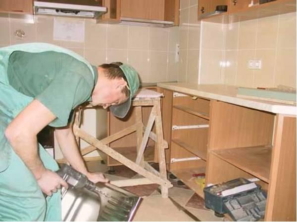 Кухня своими руками: составляем проект для кухни, пошаговый процесс сборки