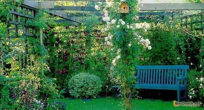 Интерьер дачи в деревянном доме своими руками. кантри в ландшафтном дизайне – оформляем сад и участок в деревенском стиле