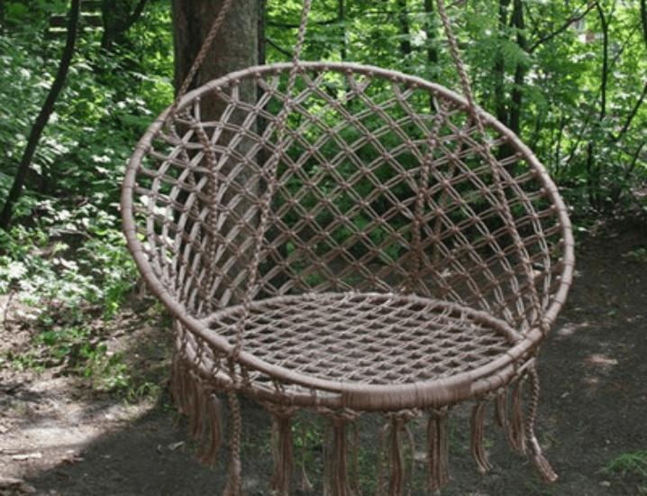 Как сделать подвесное кресло своими руками?