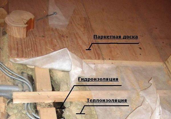 Правильное утепление пола в деревянном доме