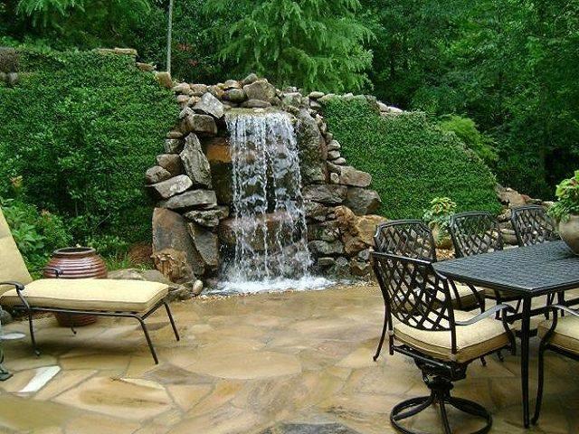 Как сделать водопад на даче своими руками: пошаговая инструкция по строительству