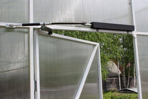 Автоматика для теплиц термопривод