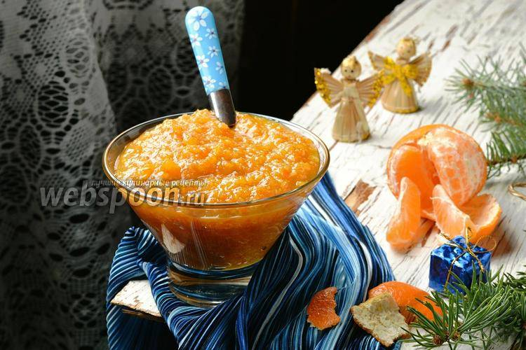 Рецепт варенья из мандаринов на зиму