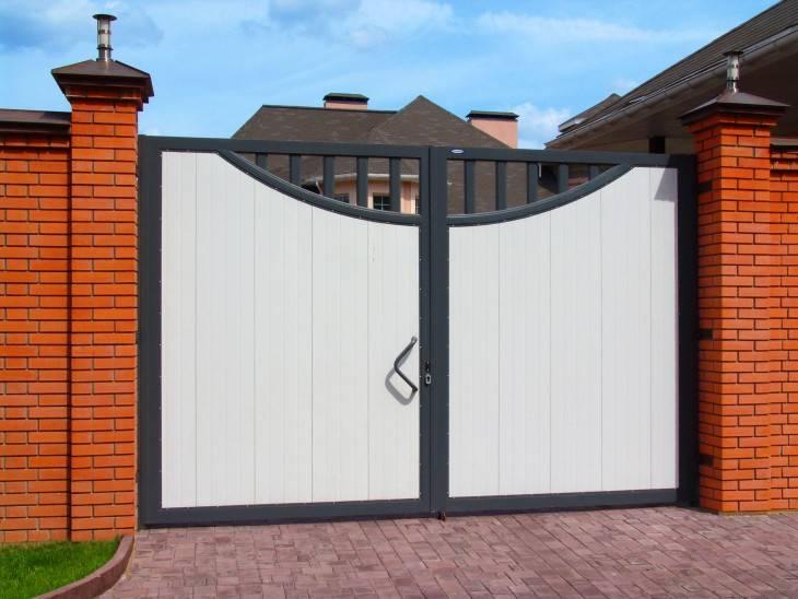 Сдвижные ворота — типы и особенности разных конструкций, видео