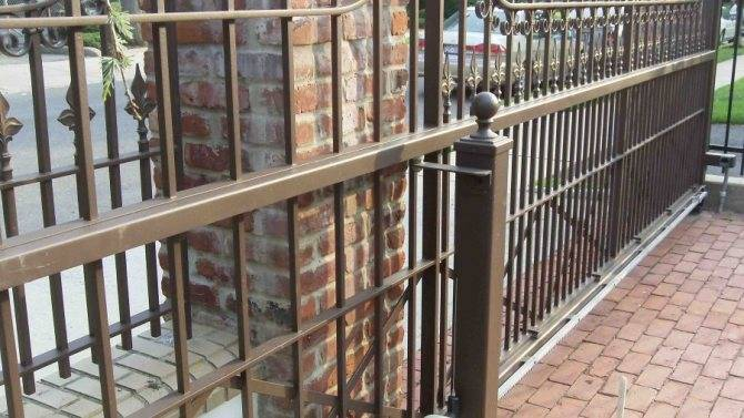Виды и особенности откатных ворот