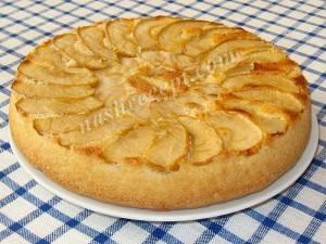 Шарлотка пышная с яблоками в духовке все варианты приготовления