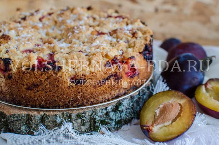 Сливовый пирог: рецепт для гурманов