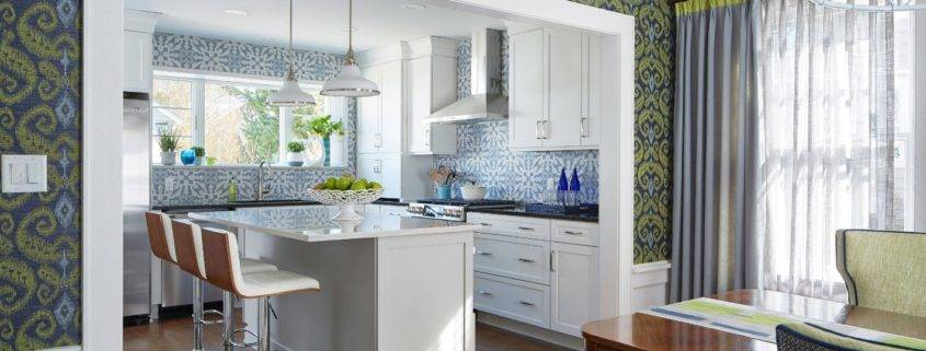 3d фотообои в интерьере кухни — идеи и варианты