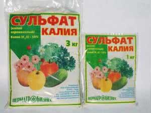 Хлористый калий как удобрение: описание и инструкция по применению
