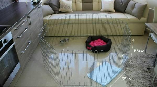 Способы изготовления вольеров для щенков