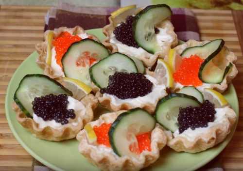 Тарталетки с начинкой на праздничный стол 2020 года. 18 простых и вкусных рецептов тарталеток.