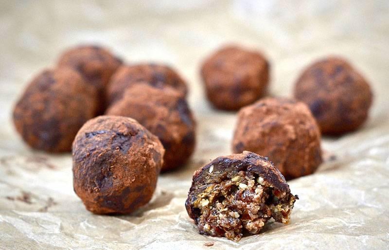 Разные домашние рецепты вкуснейших конфет — трюфели, шоколадные, кокосовые, с финиками и орешками