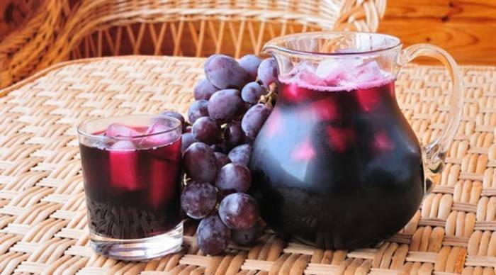 Сок виноградный на зиму в домашних условиях