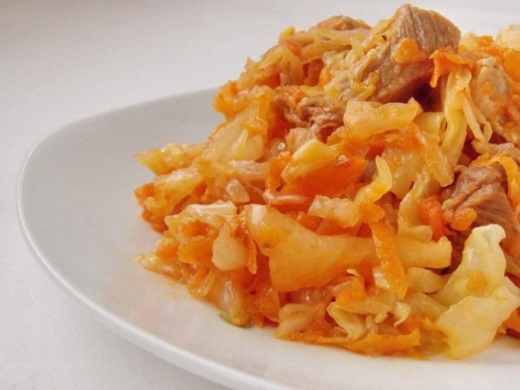 Тушеная капуста — секреты вкусного приготовления