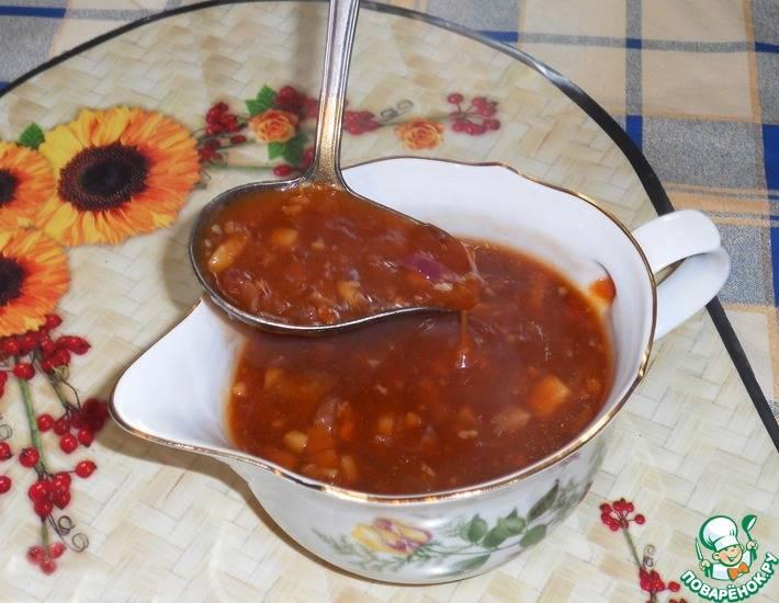 Клюквенный соус - 11 домашних вкусных рецептов приготовления