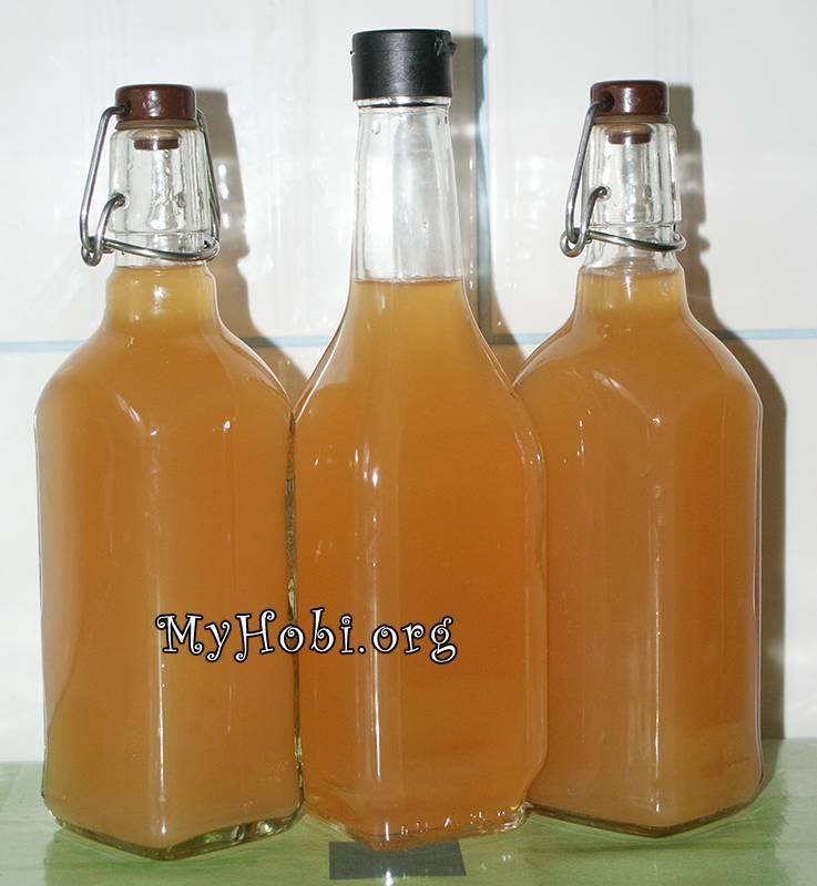 Приготовление яблочного уксуса в домашних условиях