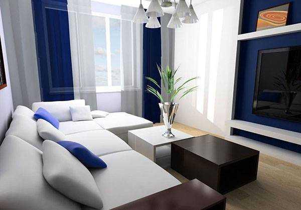 Обои для гостиной - особенности отделки, полезные советы и фото идеи