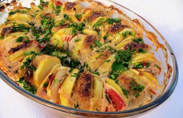 Готовим вкусные тефтели с картошкой в духовке
