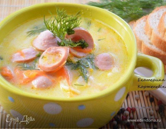 Сырный суп с брокколи для веганов и мясоедов