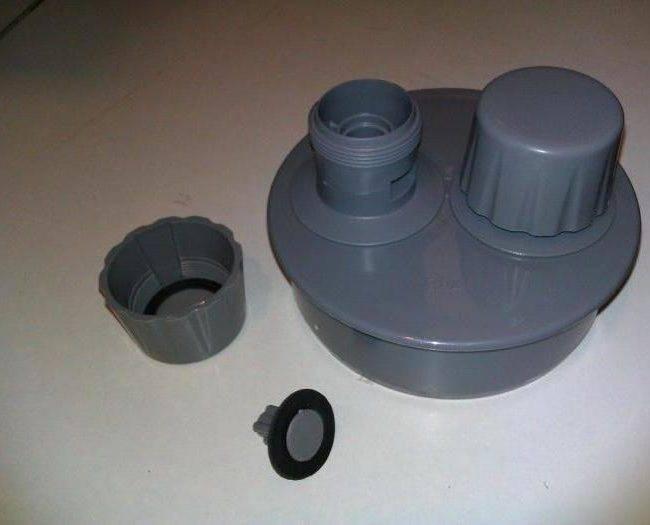 Вентиляционный клапан аэратор для канализации со смещением