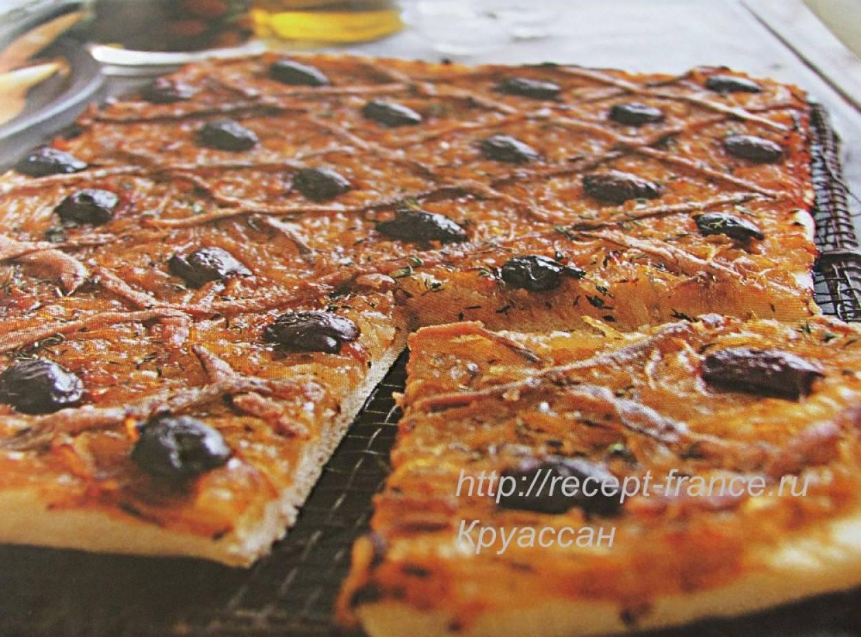 Топ-8 рецептов французского лукового пирога