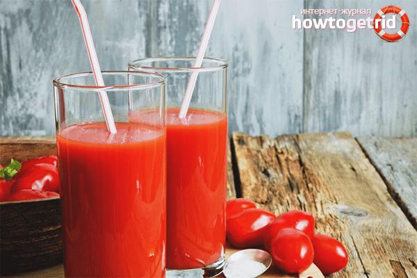 Можно ли похудеть на томатном соке?