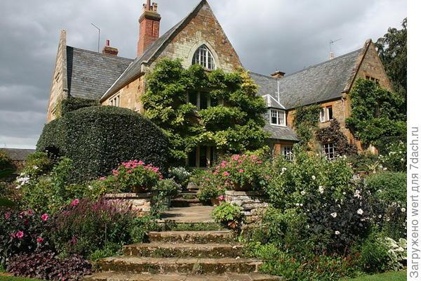 Английский сад ландшафтный дизайн: идеи с фото
