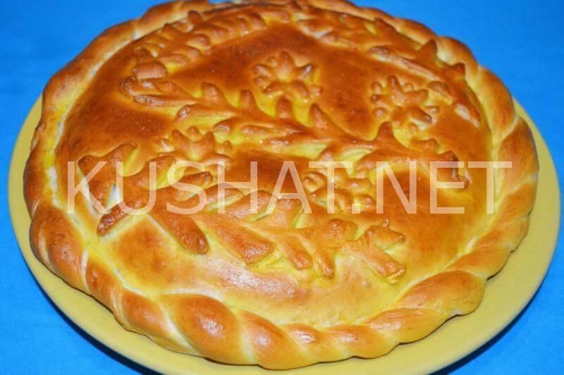 Постное дрожжевое тесто для пирожков и пирогов в духовке