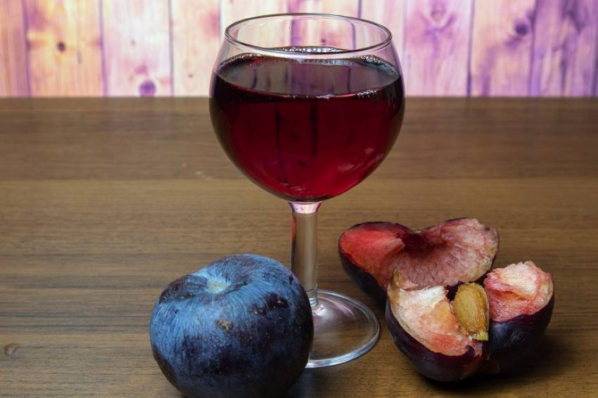 Вино из сливы в домашних условиях пошагово, какие сливы брать
