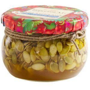 Семечки тыквы с медом: польза, рецепт приготовления