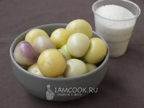 Салат из овощного физалиса на зиму. рецепты блюд из физалиса овощного