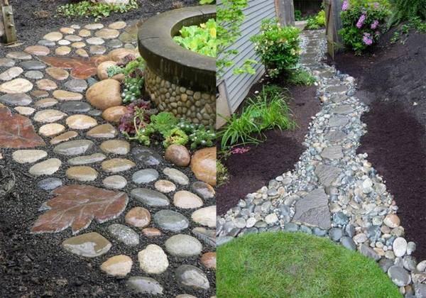 Светящиеся камни для сада своими руками