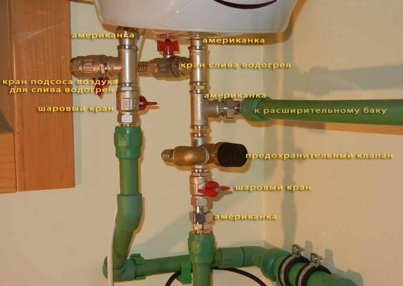 Как подключить водонагреватель к водопроводу в квартире