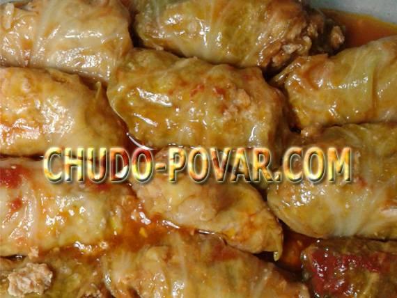 Вкусные голубцы в мультиварке: пошаговый рецепт с фото