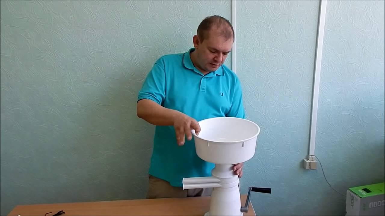 Сепараторы для молока: разновидности, конструктивные особенности и принцип работы