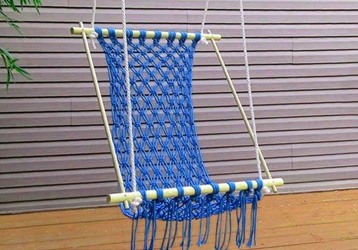 Плетение гамака своими руками: схема выполнения изделия