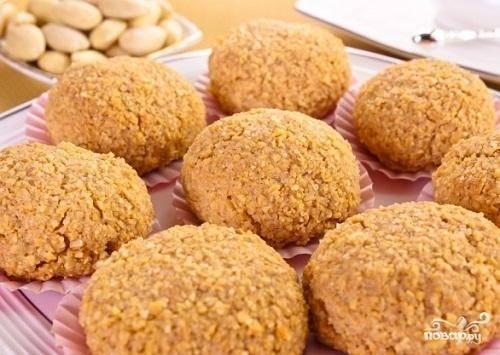 Рецепт миндального печенья классического, французского, фото