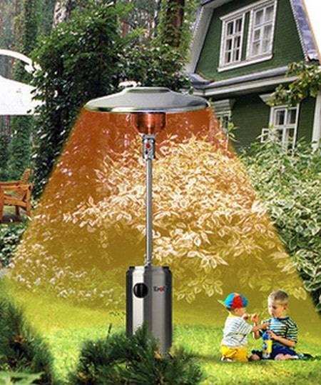 Как выбрать уличный газовый обогреватель