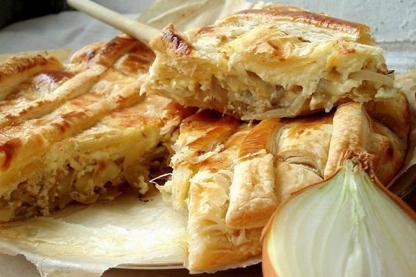 Как приготовить французский луковый пирог по классическому пошаговому рецепту