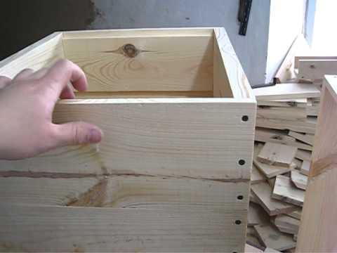 Как сделать ульи для пчел своими руками?