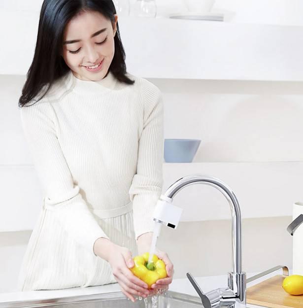 Светодиодный смеситель из Китая – стильно и удобно