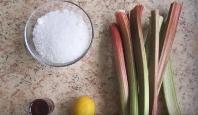 Варенье из ревеня — интересные рецепты на любой вкус