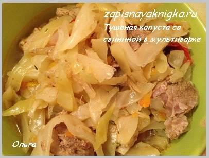 Тушеная капуста с фаршем - 6 очень вкусных рецептов с фото пошагово