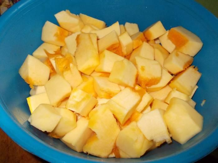 Сок из тыквы с апельсином на зиму