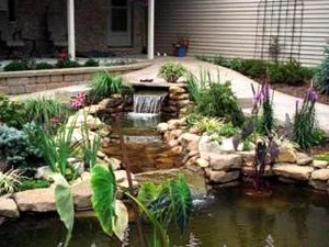 Пошаговая инструкция по созданию декоративного мини-водопада на даче