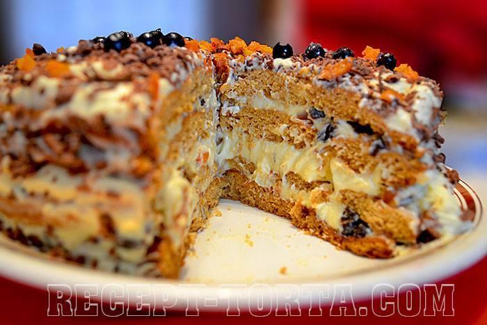 """Торт """"трухлявый пень"""" - пошаговый рецепт с фото в домашних условиях"""